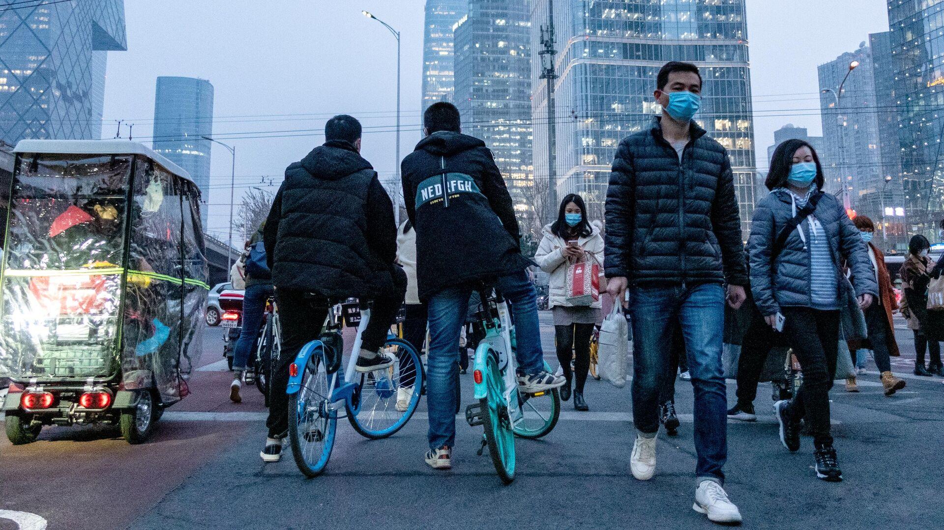 Китай через год после объявления о начале пандемии - РИА Новости, 1920, 24.09.2021