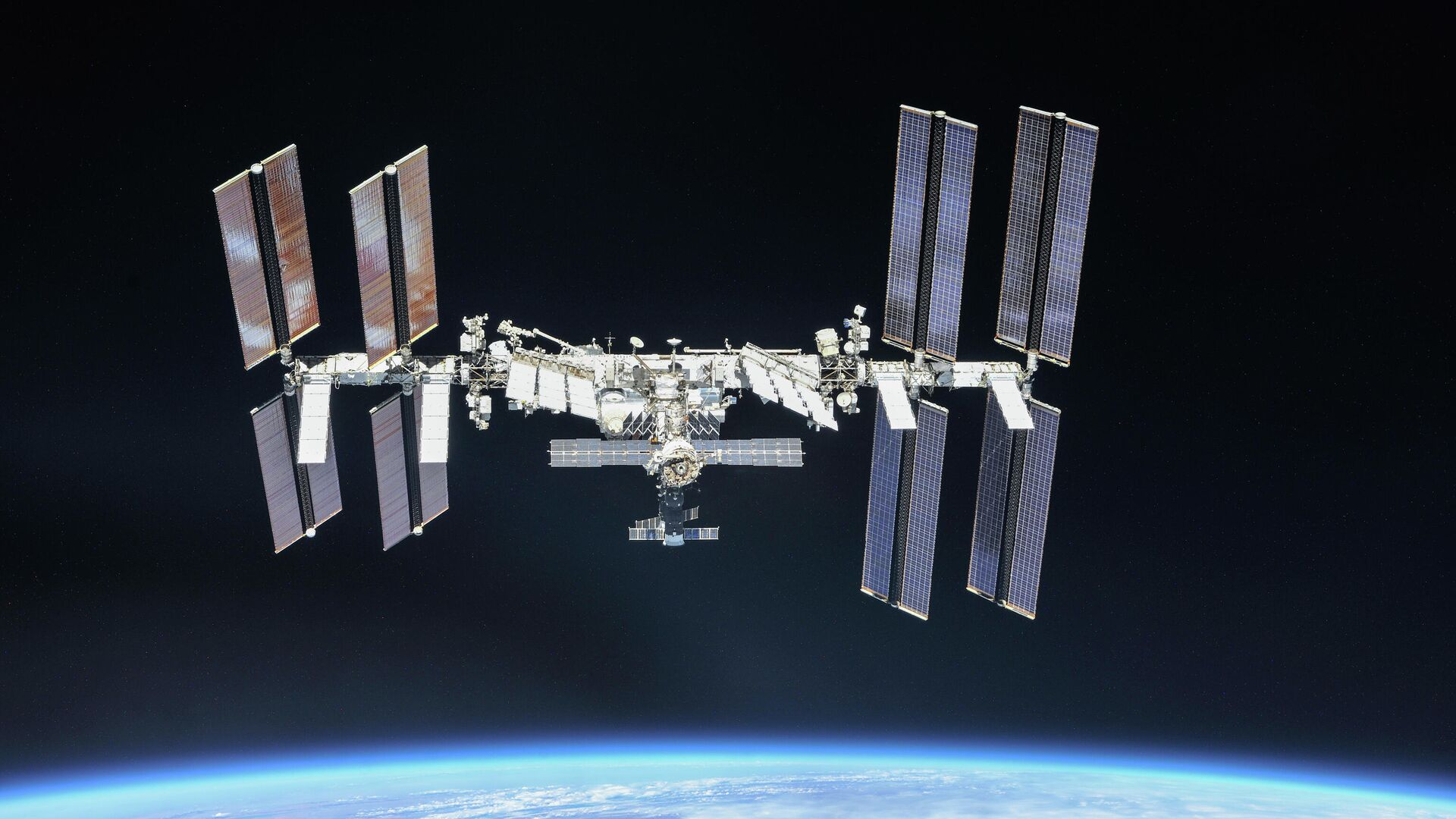 Международная космическая станция - РИА Новости, 1920, 18.07.2021