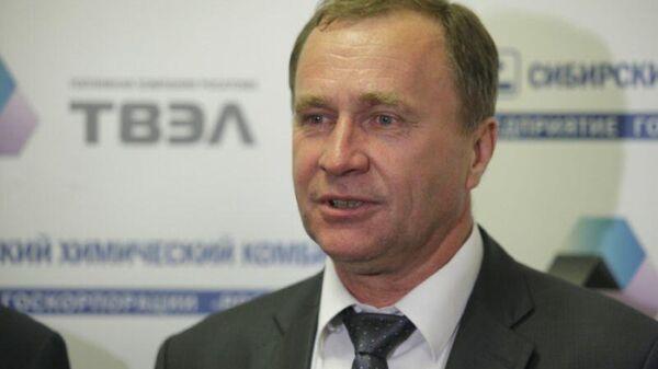Генеральный директор Сибирского химического комбината Сергей Точилин