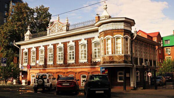Дом Поповой, Тюмень