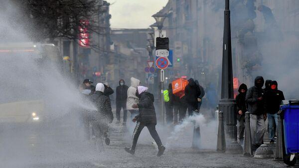 Протесты в Льеже