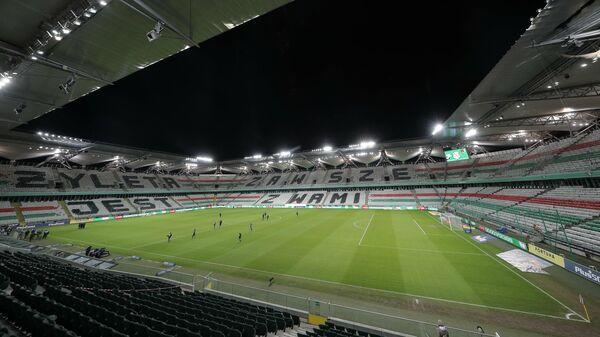 Домашний стадион варшавской Легии имени Войска Польского