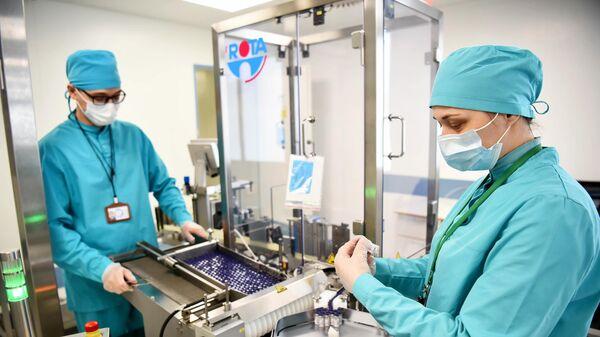 Производство вакцины Sputnik V