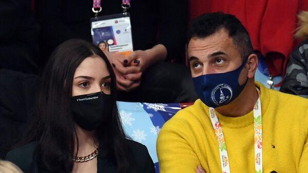 Евгения Медведева и Ари Закарян