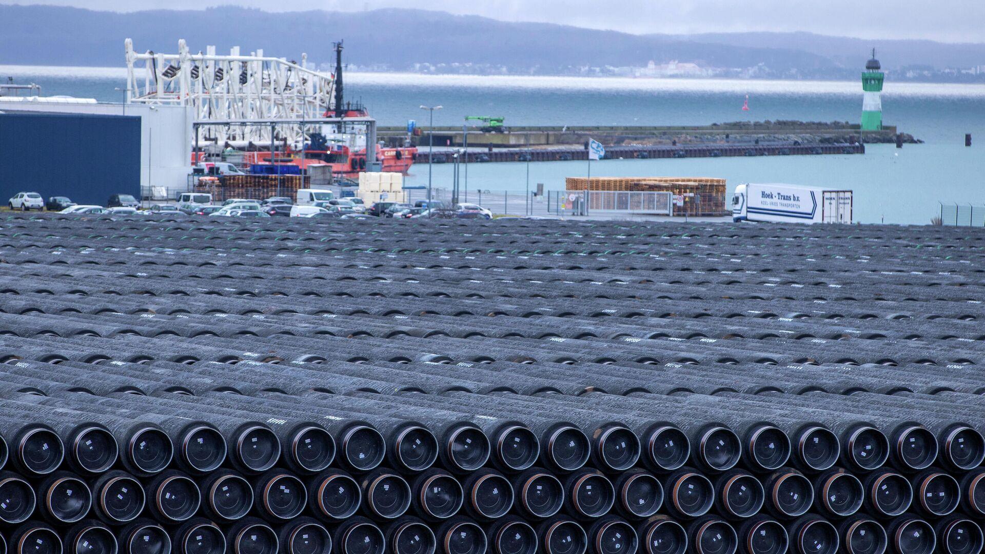 Трубы для строительства газопровода Северный поток 2 - РИА Новости, 1920, 23.03.2021