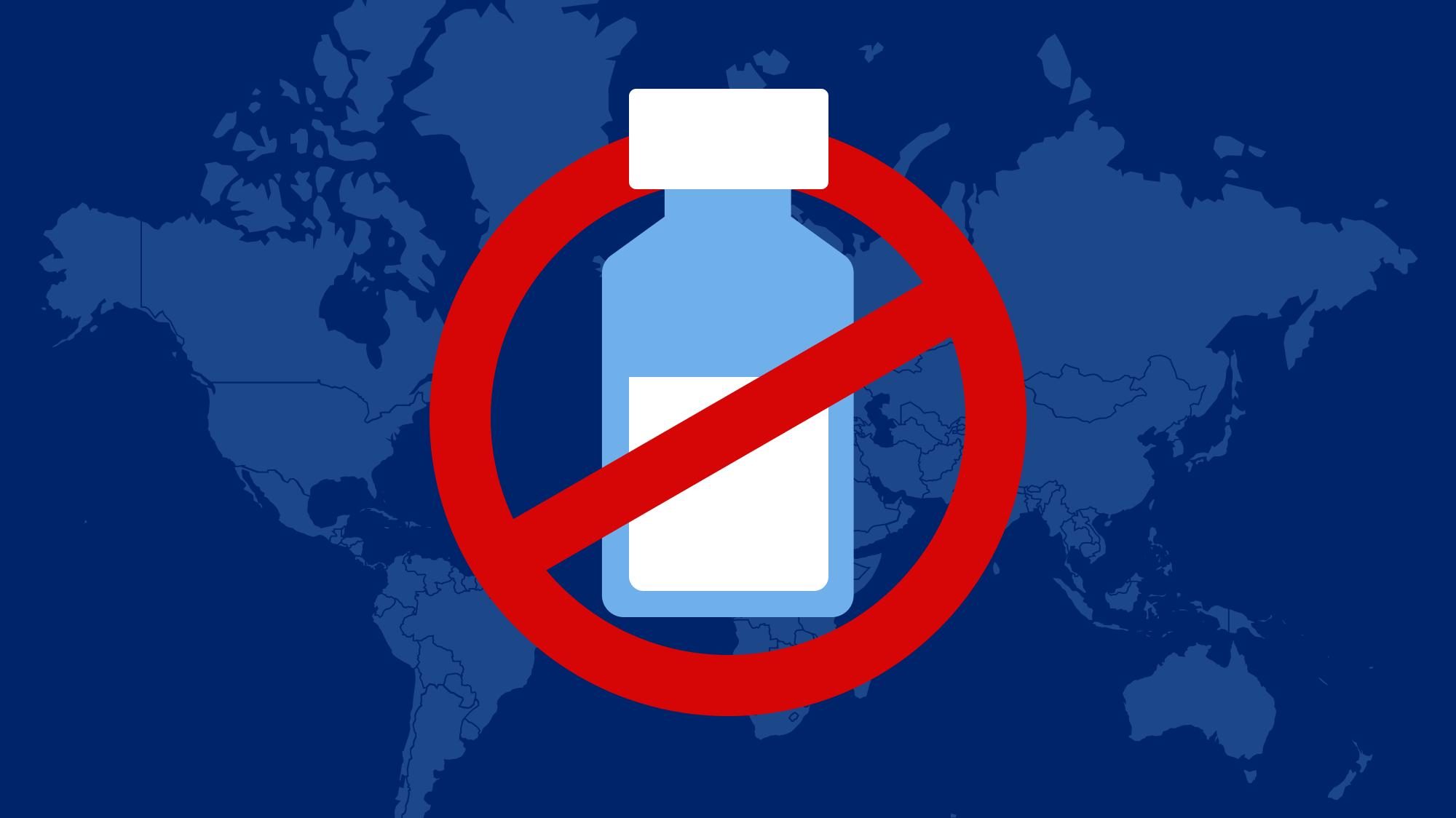 Какие страны приостановили использование вакцины AstraZeneca