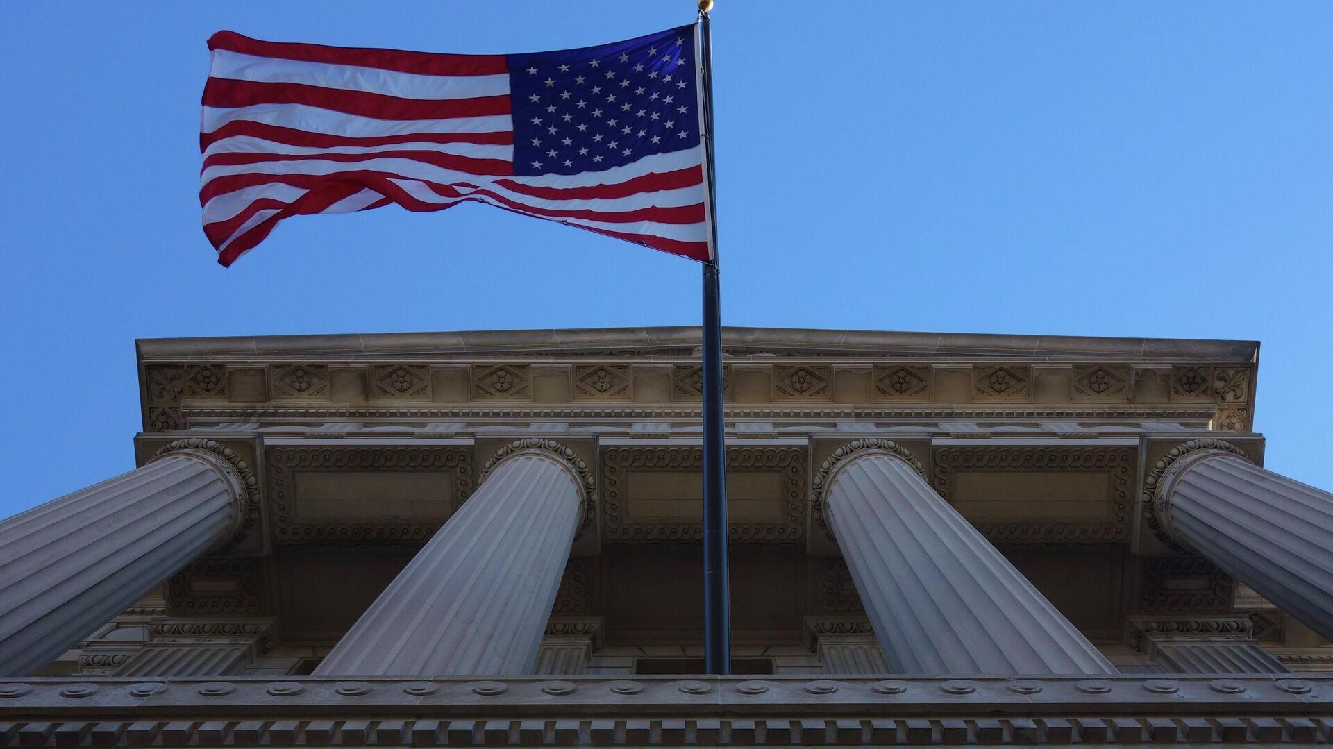 Здание Министерства торговли США в Вашингтоне - РИА Новости, 1920, 31.03.2021