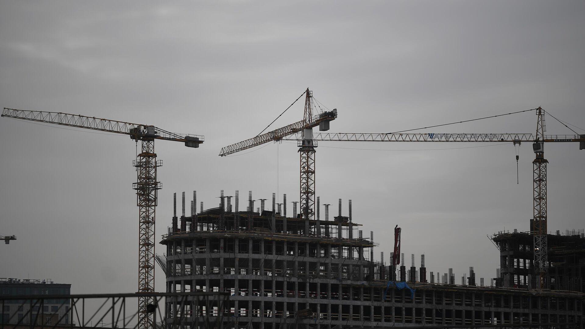 Строительство жилья - РИА Новости, 1920, 08.09.2021