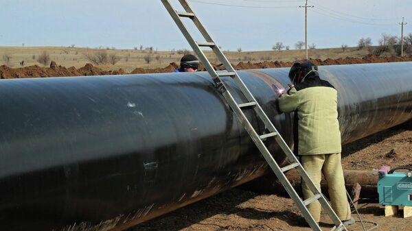 Строительство Бештерек-Зуйского водовода и водозабора в Крыму