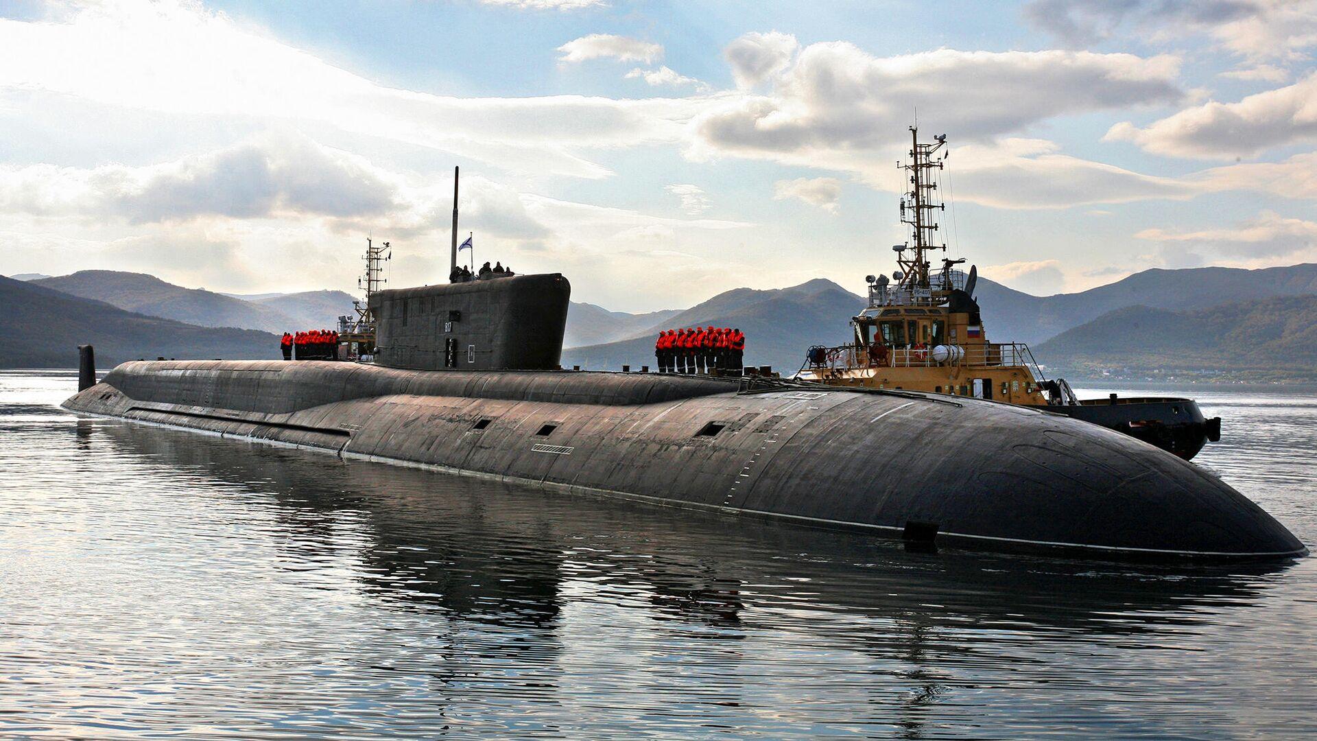 Российская атомная подводная лодка стратегического назначения проекта 955 Владимир Мономах - РИА Новости, 1920, 03.10.2021