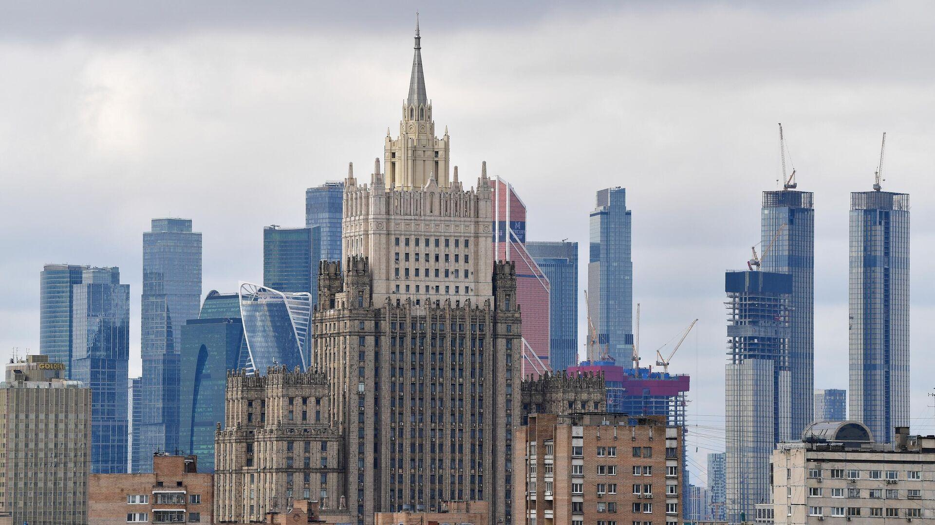 Здание министерства иностранных дел России - РИА Новости, 1920, 08.06.2021
