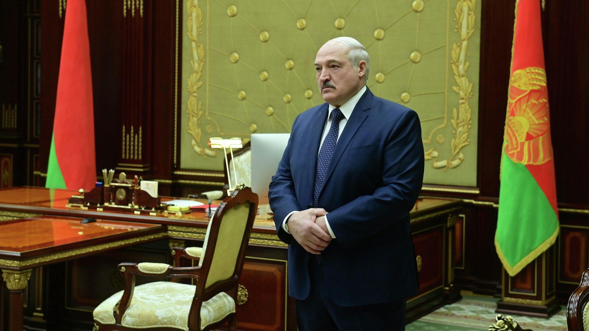 Президент Белоруссии Александр Лукашенко - РИА Новости, 1920, 05.08.2021