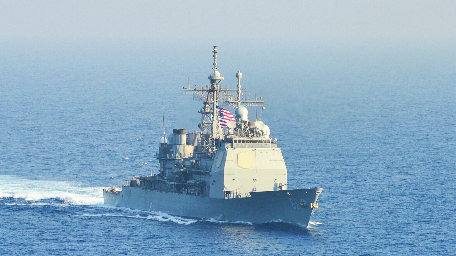 Крейсер ВМС США Monterey - РИА Новости, 1920, 09.04.2021