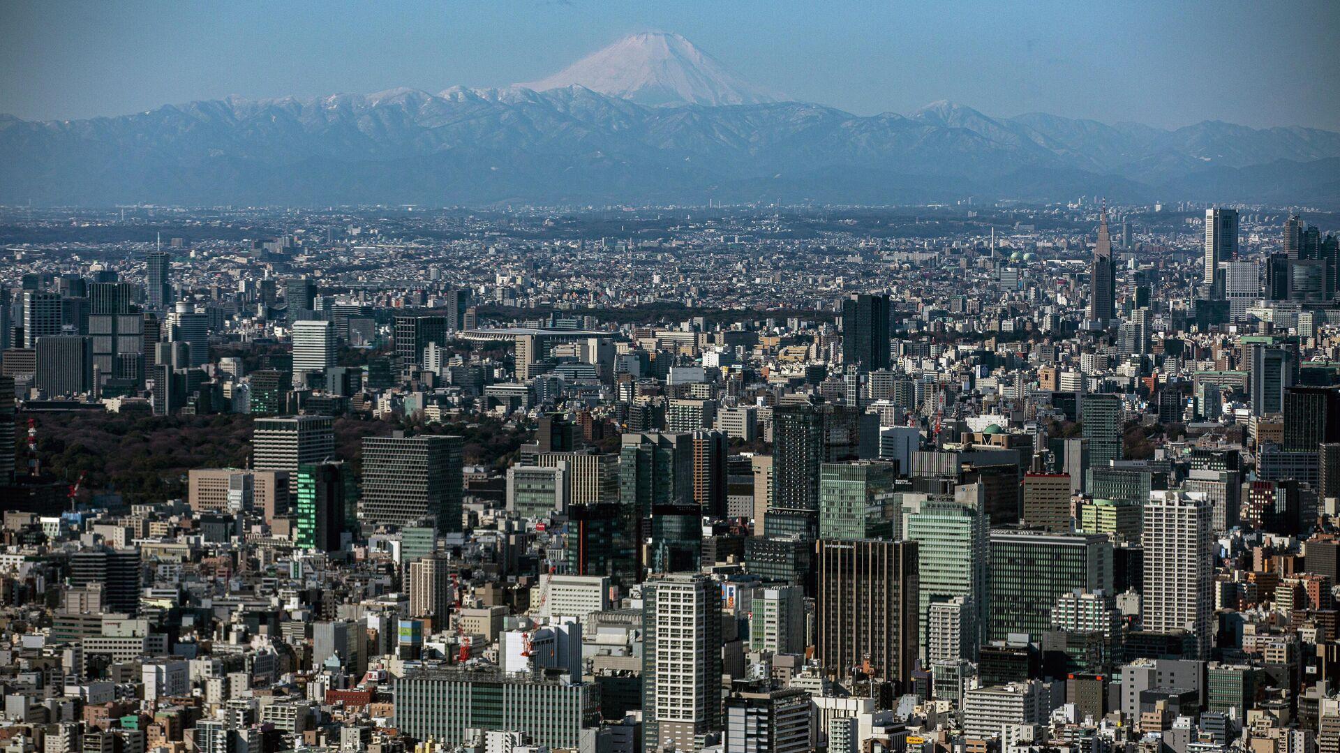 Панорама Токио - РИА Новости, 1920, 24.09.2021