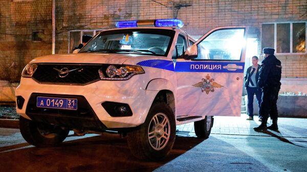Ночное дежурство наряда полиции в Белгороде