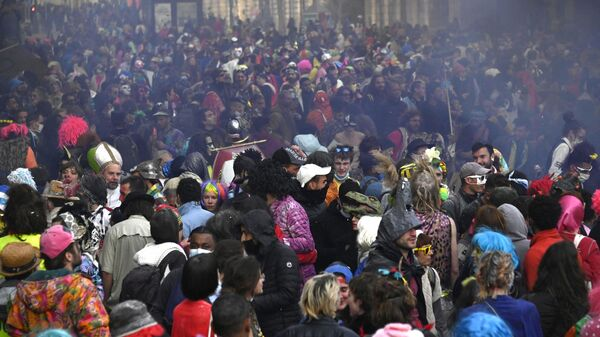 Карнавал в Марселе