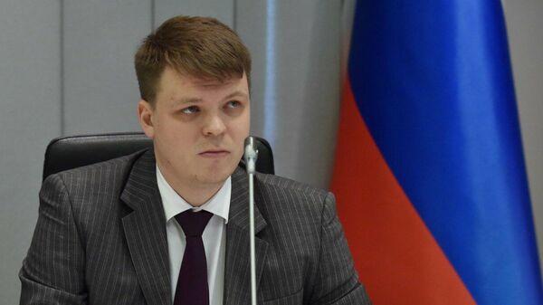 Представитель самопровозглашенной Донецкой народной республики в подгруппе по безопасности Алексей Никоноров