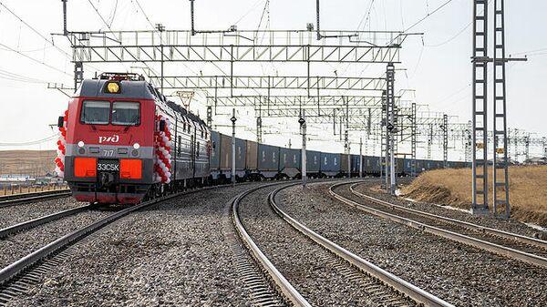 РЖД завершили электрификацию последнего участка железной дороги до границы с Китаем