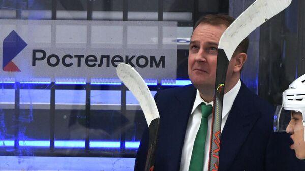 Главный тренер ХК Салават Юлаев Томи Лямся