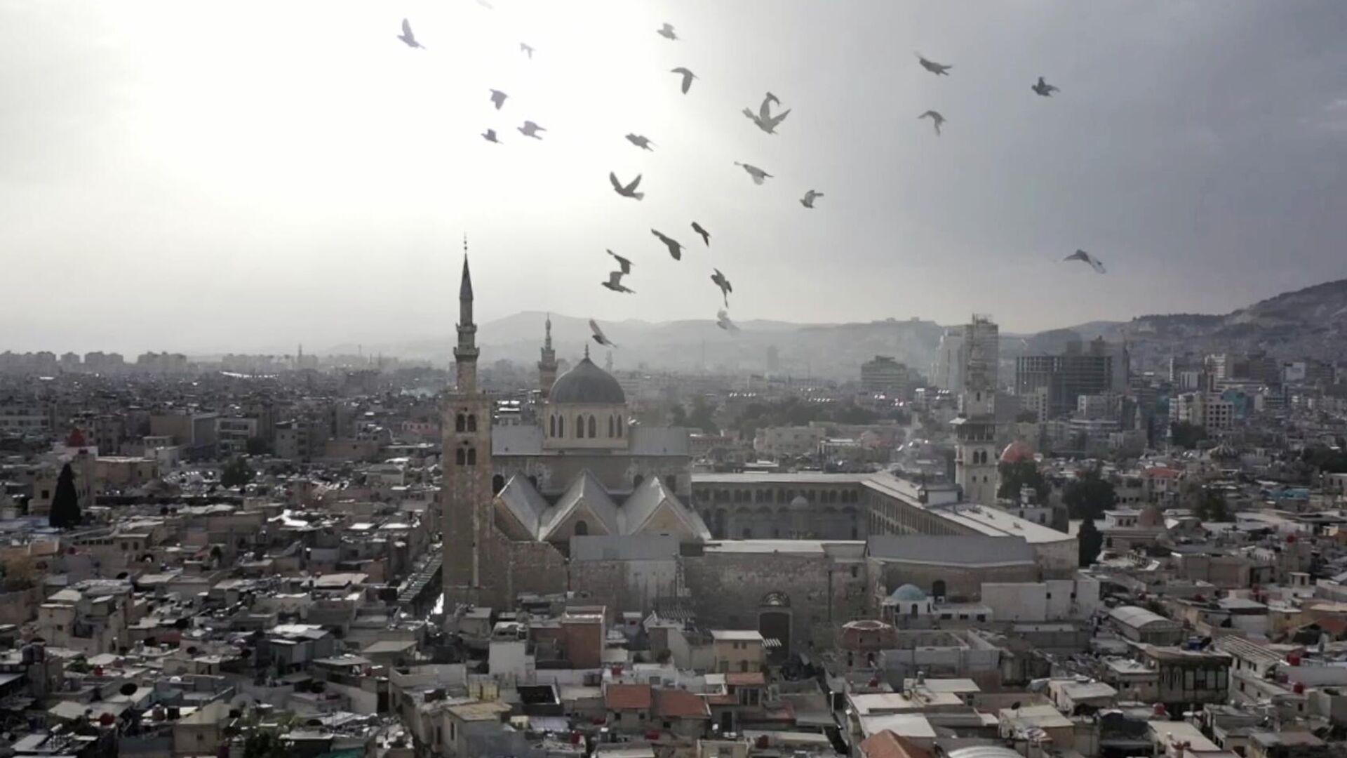 Мечеть Омейядов в Дамаске - РИА Новости, 1920, 19.09.2021