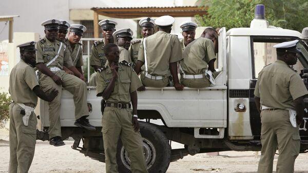 Полиция в Мавритании