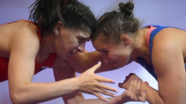 Вольная борьба. Женщины. Чемпионат России