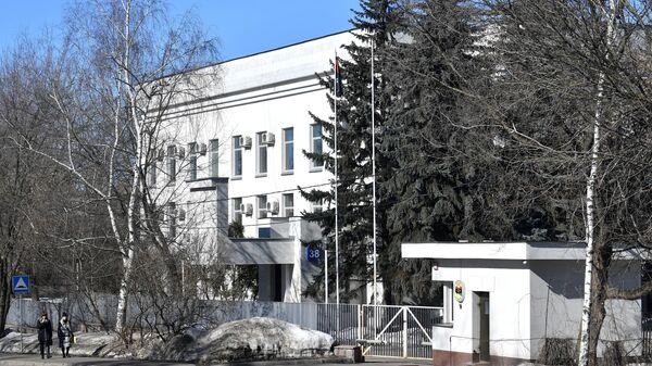 Здание посольства Ливии в Москве