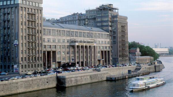 Здание Московского государственного театра эстрады