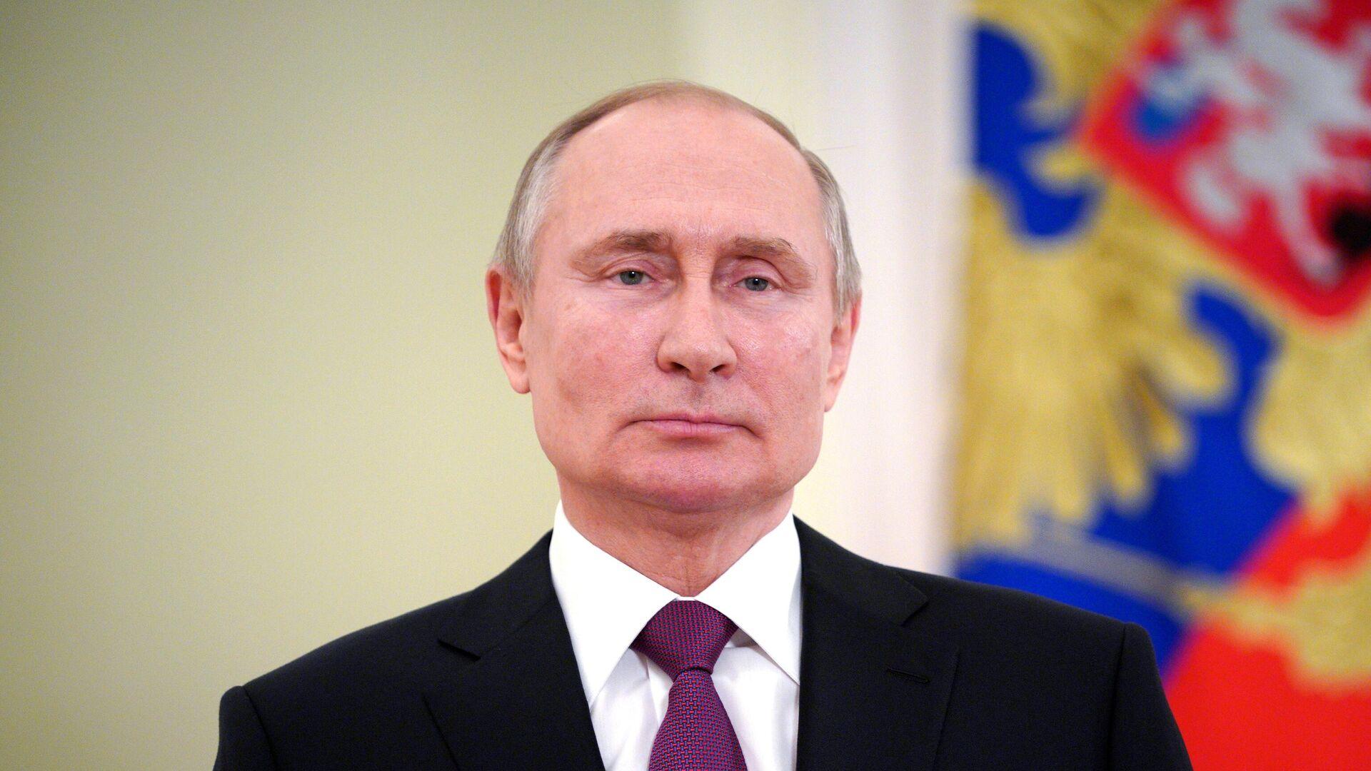 Президент РФ Владимир Путин - РИА Новости, 1920, 25.07.2021