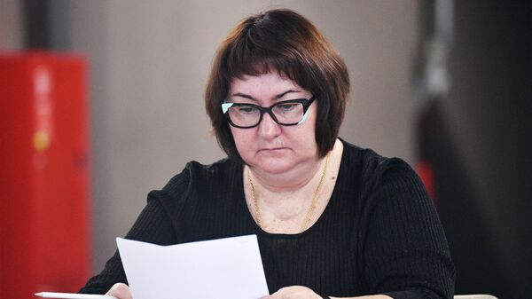Президент Федерации лыжных гонок России Елена Вяльбе