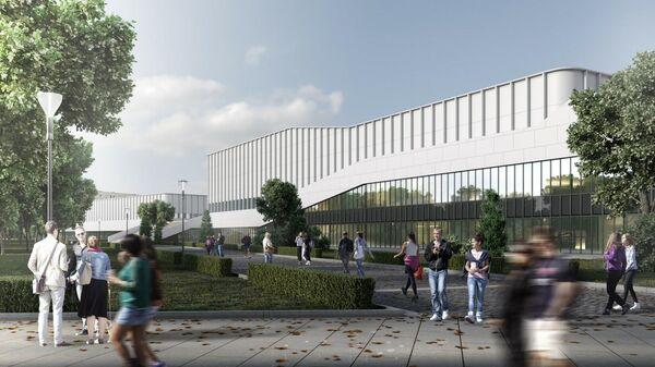 Проект Академии спорта Динамо в Москве