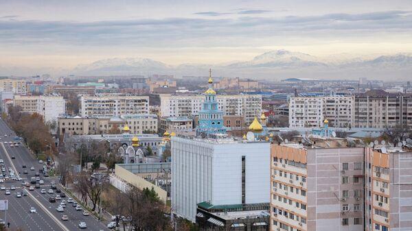 Вид на Ташкент, Узбекистан