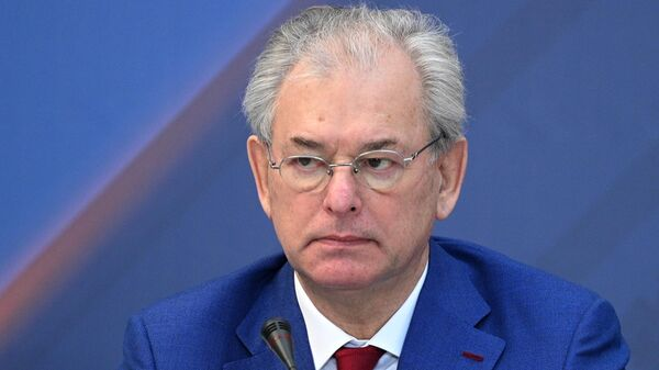 Заместитель председателя Центральной избирательной комиссии РФ Николай Булаев