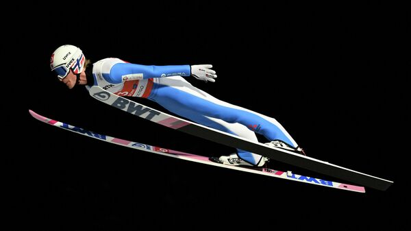 Норвежский лыжник Даниэль-Андре Танде