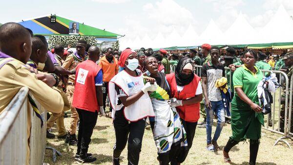 Церемония прощания с покойным президентом Танзании Джоном Магуфули