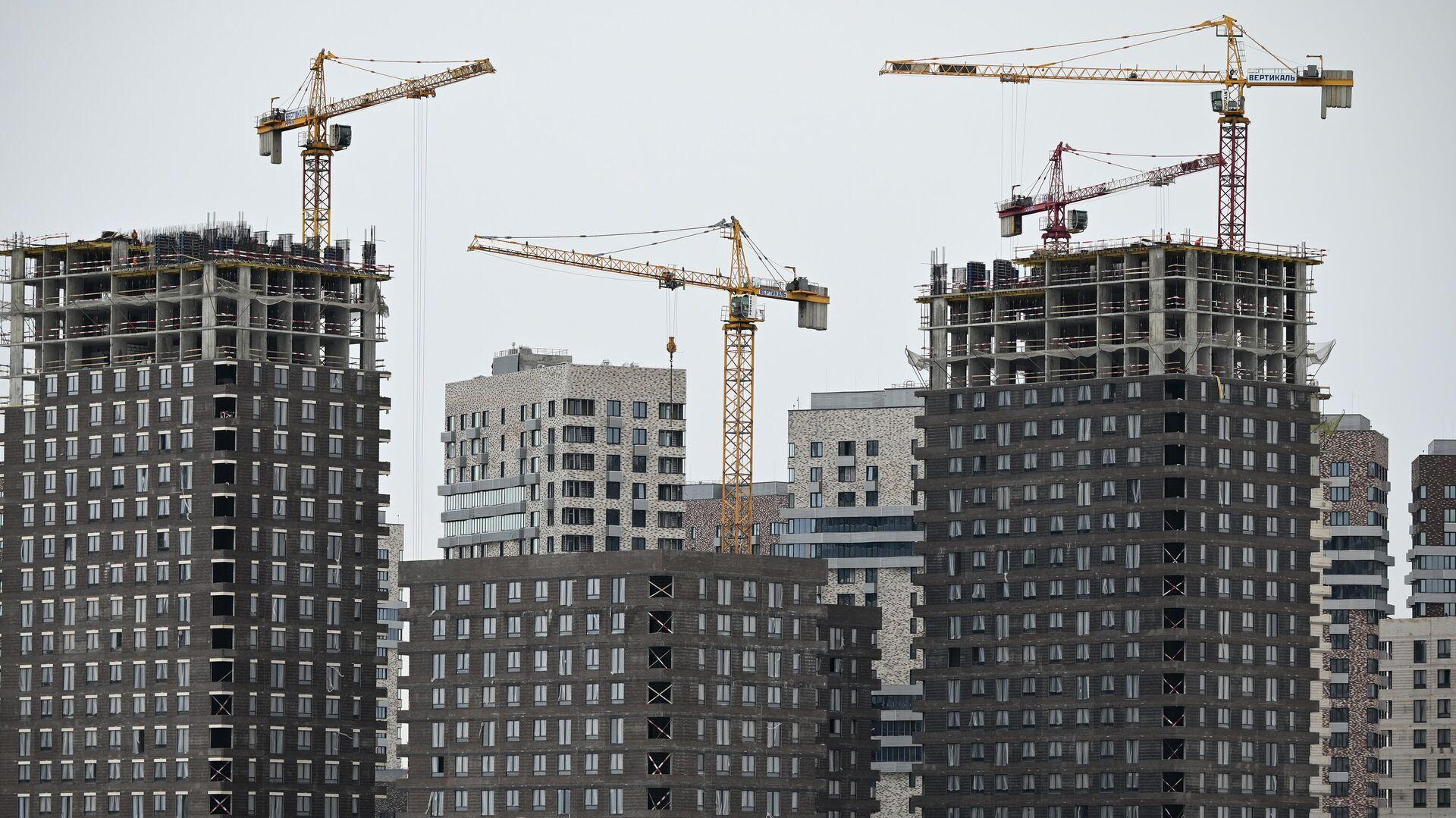 Строительство жилья - РИА Новости, 1920, 26.07.2021