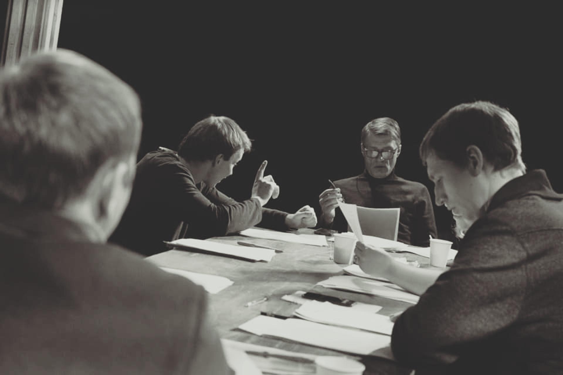На репетиции спектакля Школа жен Театра Маяковского - РИА Новости, 1920, 30.03.2021