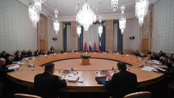 Заседание 55-й сессии Парламентского собрания Союза Беларуси и России в Москве