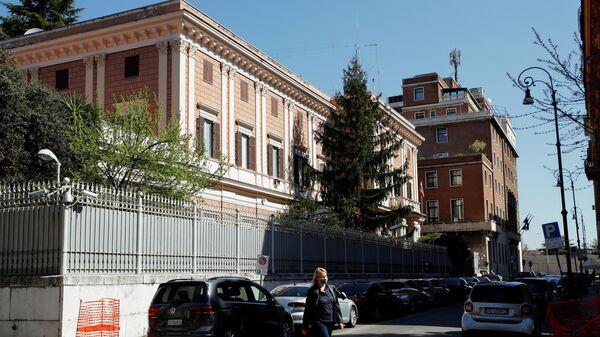 Здание посольства РФ в Риме