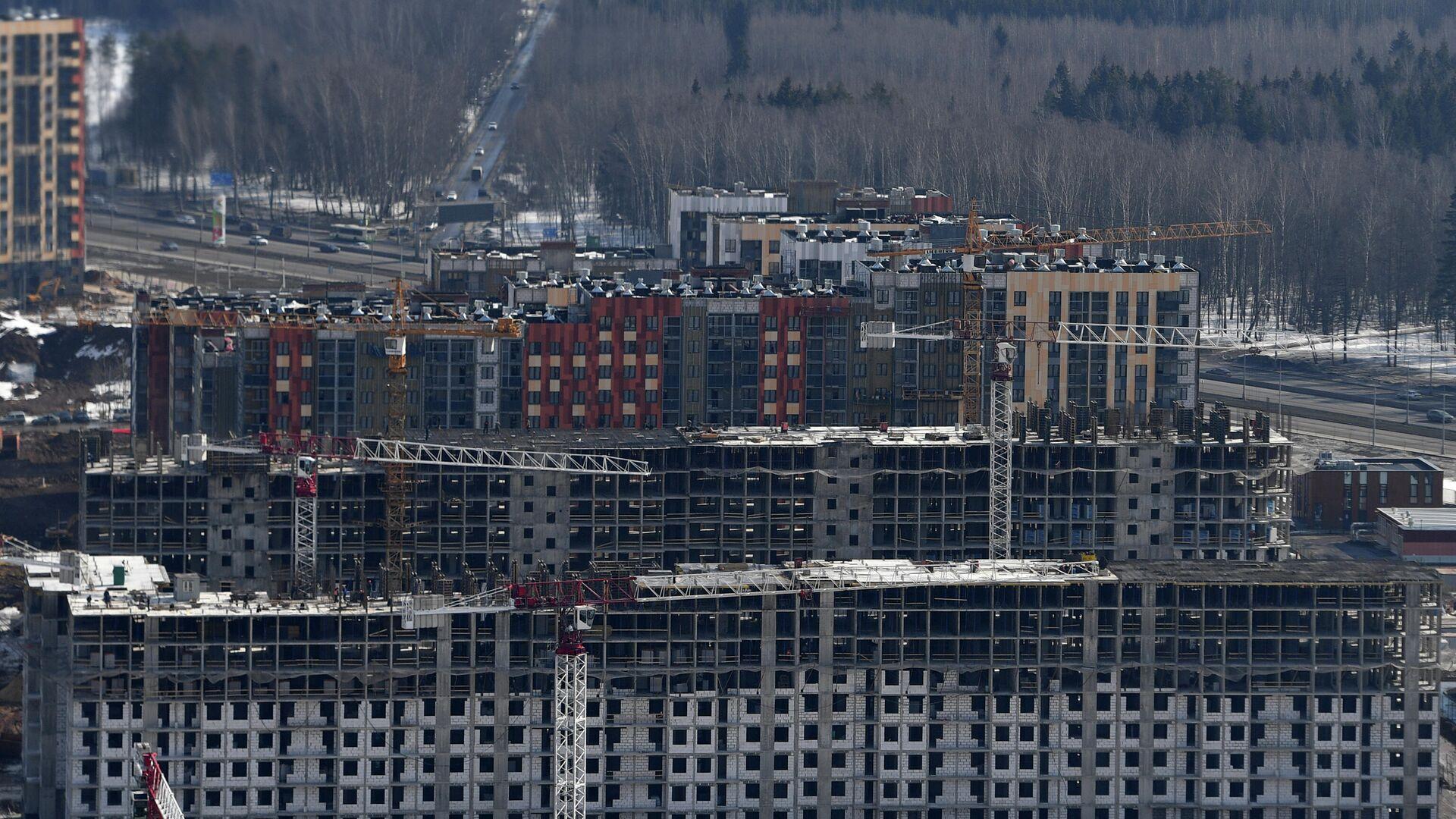 Строительство жилья - РИА Новости, 1920, 04.08.2021