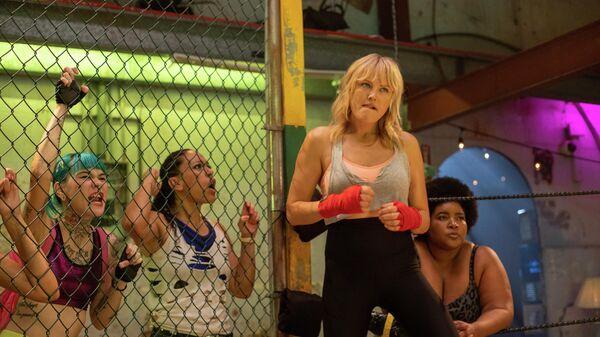 Кадр из фильма В ринге только девушки