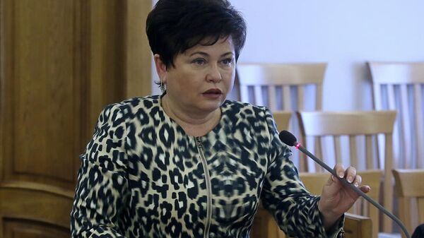 Представитель губернатора и правительства в законодательном собрании Алтайского края Стелла Штань