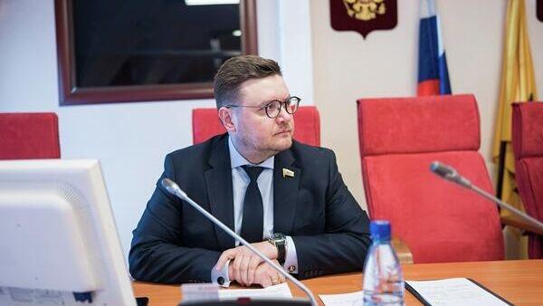 Депутат Ярославской областной думы Роман Фомичев