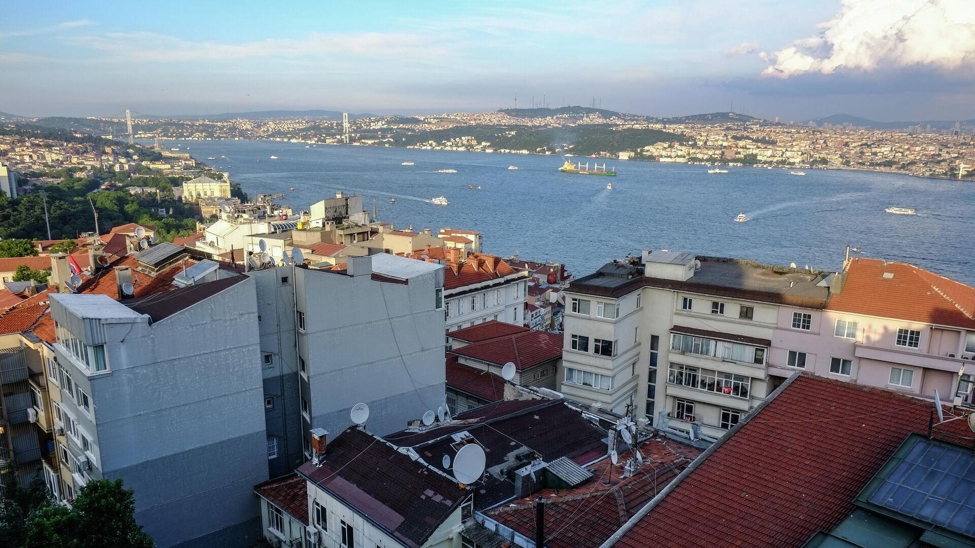 Пролив Босфор в Стамбуле - РИА Новости, 1920, 04.08.2021