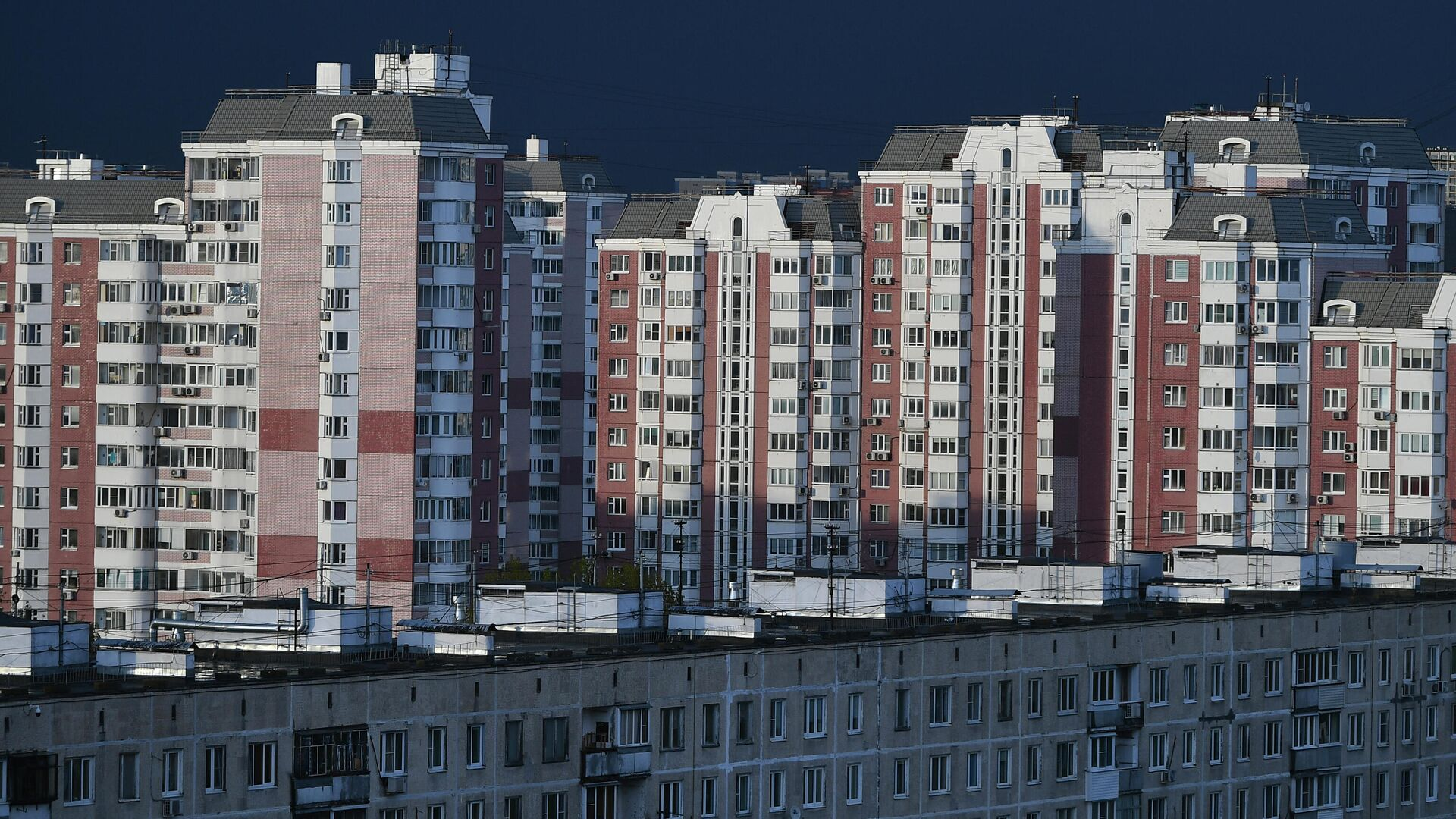 Жилые дома на Химкинском бульваре в Москве - РИА Новости, 1920, 29.07.2021