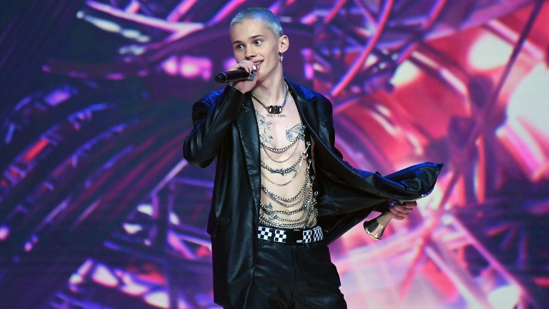 Блогер, рэп-исполнитель Даниил Милохин на III церемонии награждения музыкальной премии Жара Music Awards в Crocus City Hall - РИА Новости, 1920, 20.05.2021