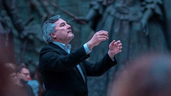 Художественный руководитель Московского Синодального хора, заслуженный артист России Алексей Пузаков