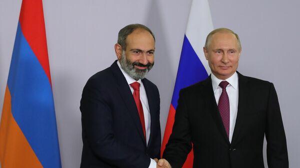 Пресс-секретарь Пашиняна подтвердила его планы встретиться с Путиным
