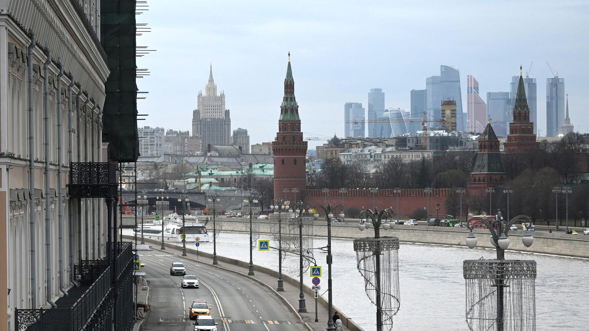Софийская набережная в Москве - РИА Новости, 1920, 21.06.2021