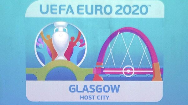 Логотип одной из столиц ЕВРО-2020 Глазго